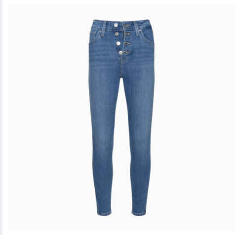 Levi's - Quần jeans lửng 721 (collection high rise) nữ 721 Exposed Buttons Ank Women Levis 72-0000