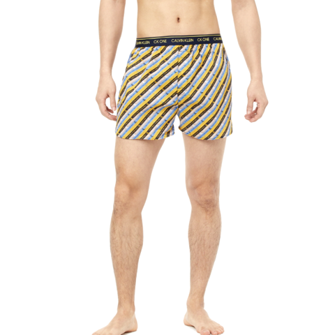 Calvin Klein - Quần ngắn mặc ngủ Nam Boxer Traditional Mens One Woven Boxer BO2998