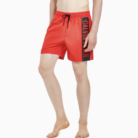 Calvin Klein - Quần ngắn Nam Woven Short Medium Mens Intense Power SW0437 CK