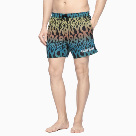Calvin Klein - Quần ngắn Nam Woven Short Medium Mens Intense Power SW0427 CK