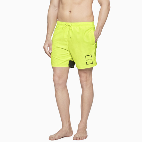 Calvin Klein - Quần ngắn Nam Woven Short Medium Mens Core Offset SW0426 CK