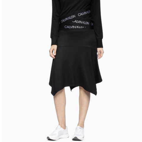 Calvin Klein - Váy Nữ Skirts Mid Rise Womens Black Active Icon HAT935 CK