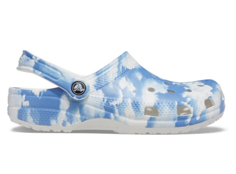 Crocs - Giày thời trang nam nữ Classic Clog Out Of This World Ii White Lifestyle SS21-2068