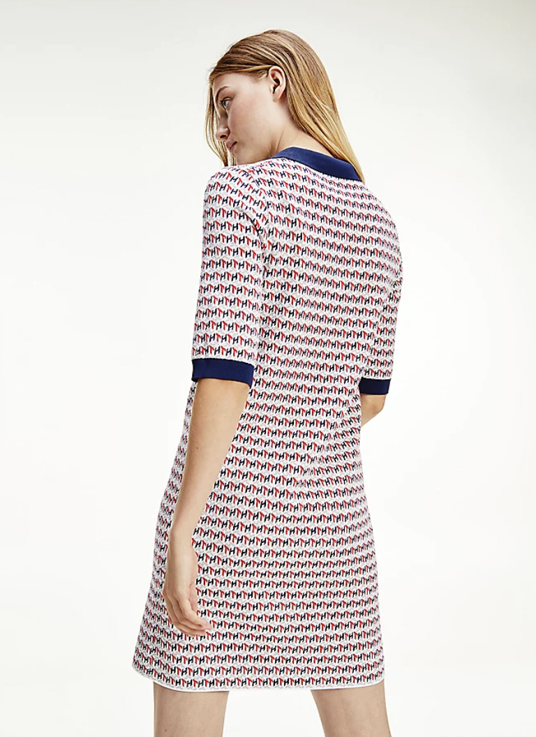 Tommy Hilfiger - Đầm nữ Cube Shift Short Dress AP21-9566