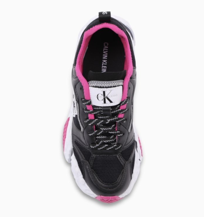 Calvin Klein - Giày nữ Runner Sneaker Lace Up YW21-A121
