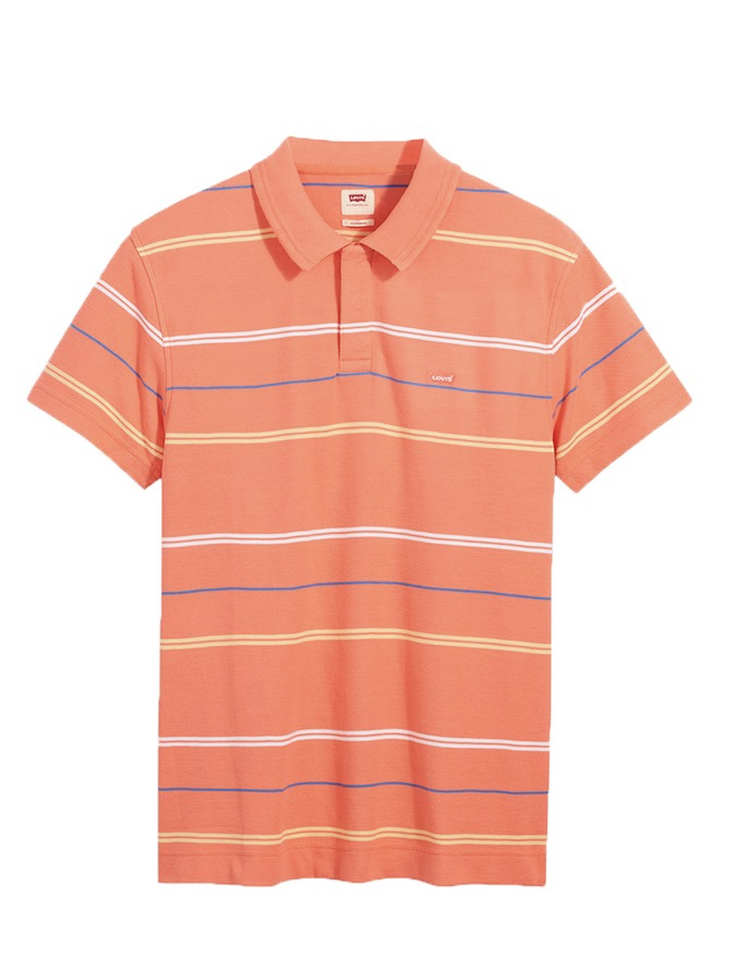 Levi's - Áo thun polo nam Regular Men Performance Ennis Coral Quartz SS21-0002