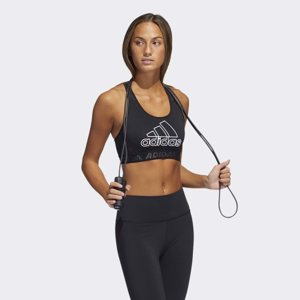 adidas - Áo ngực thể thao Nữ Drst Branded Workout Bra - Medium Support SS21-GL79