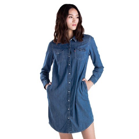 Levi's - Đầm nữ Ultimate Western Dress Women Levis UL-0002