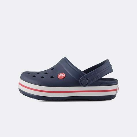 Crocs - Giày sandal trẻ em Crocband Clog Navy Red Clog CO-2045