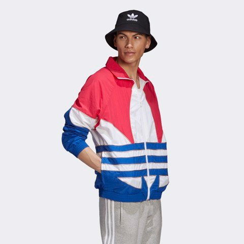 adidas - Áo khoác Nam Big Trefoil Outline Woven Track Top Originals FW20-GE24