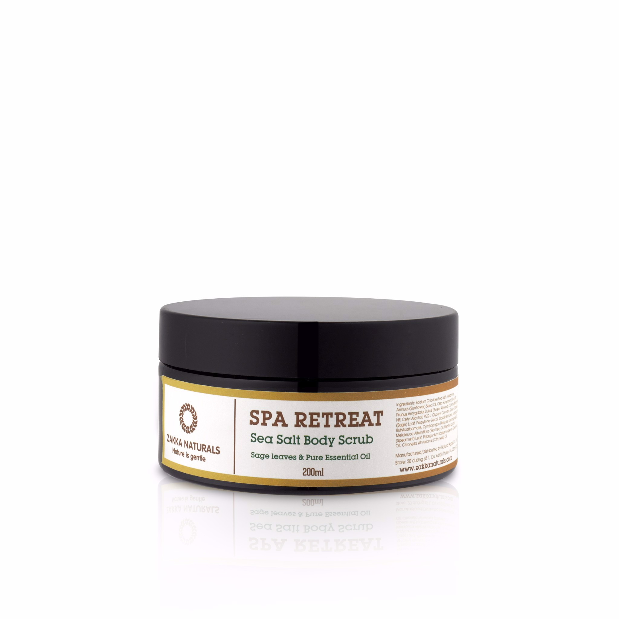 Spa Retreat Sea Salt Body Salt Scrub