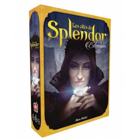 Hộp game cities of splendor