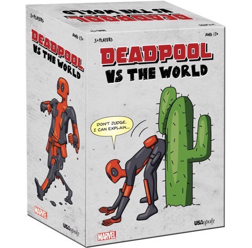US -Deadpool vs The World