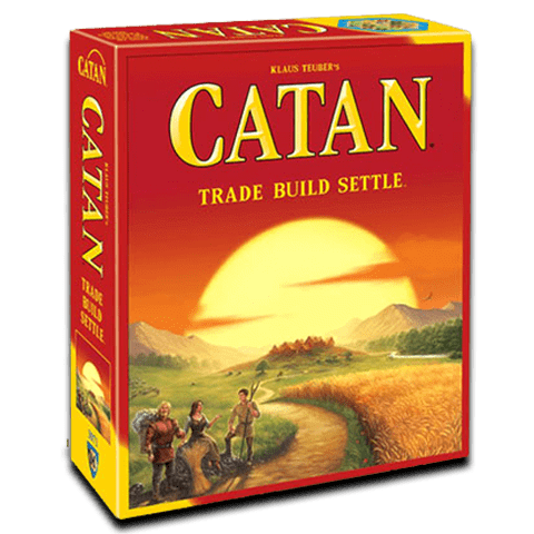 Hộp game catan US
