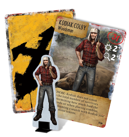 US - Dead of Winter Promo Cards : Kodiak Colby
