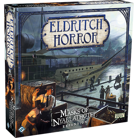 US - Eldritch Horror: Masks of Nyarlathotep.