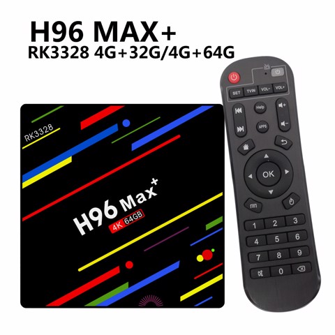 ANDROID TV BOX  H96 MAX+ 4GB RAM, 32GB ROM