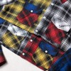 SHIRT FLANNEL COLOR-BLOCK
