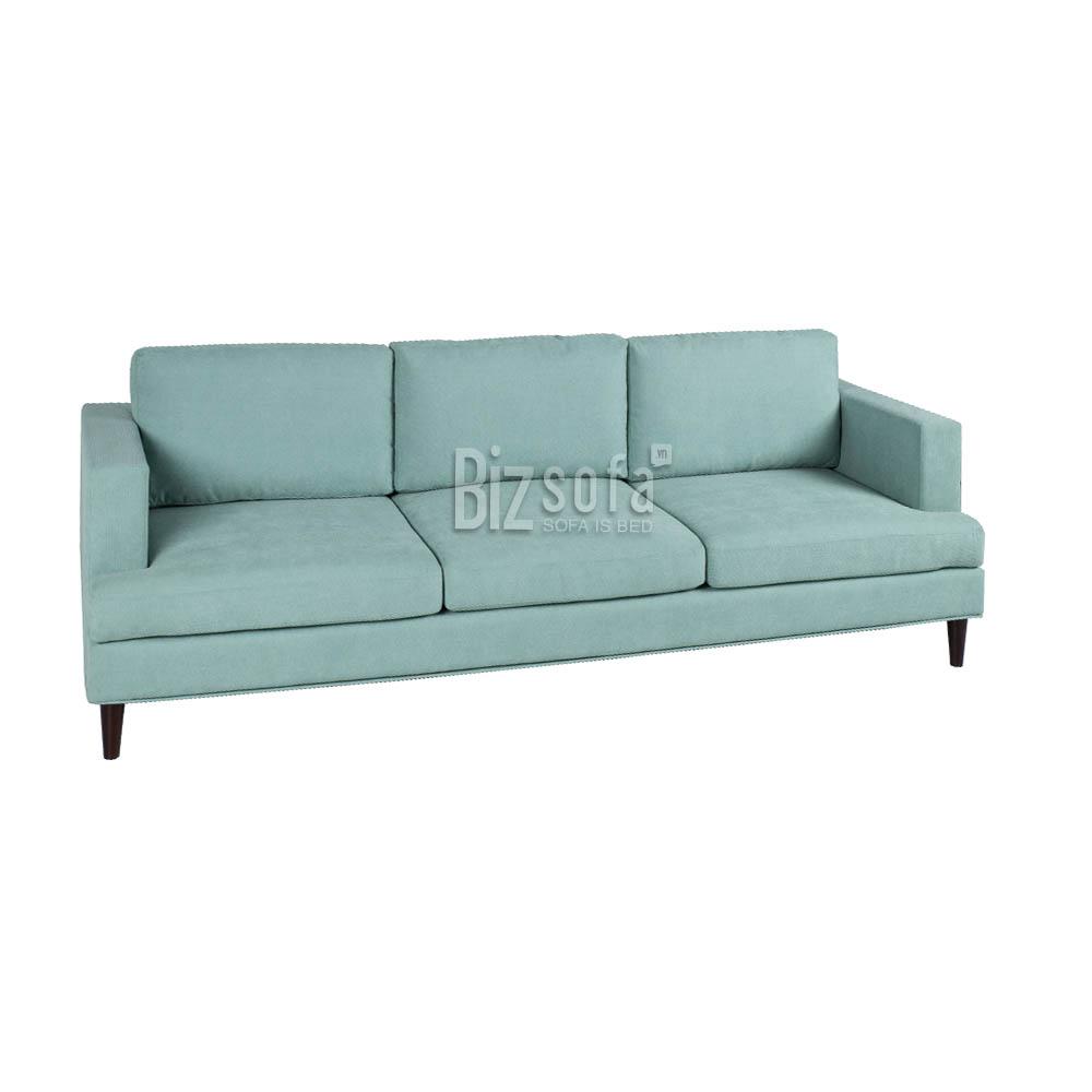 Sofa Băng Ghế B0334 – 3 Chỗ – Màu Xanh Mint