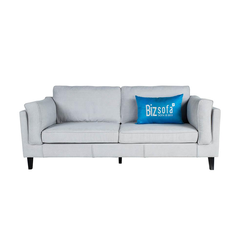 Sofa Băng Ghế B0337 – 3 Chỗ – Màu Xám Trắng