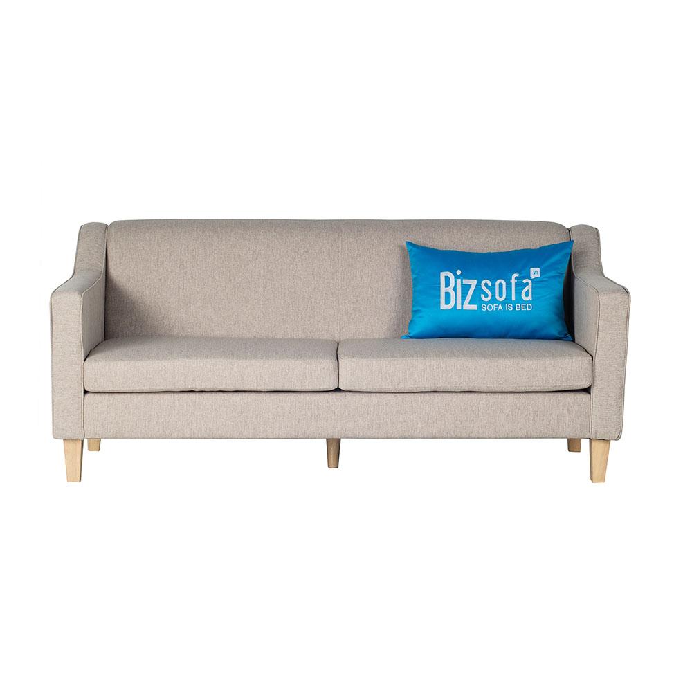 Sofa Băng Ghế B450 – 3 Chỗ – Màu Xám Trắng
