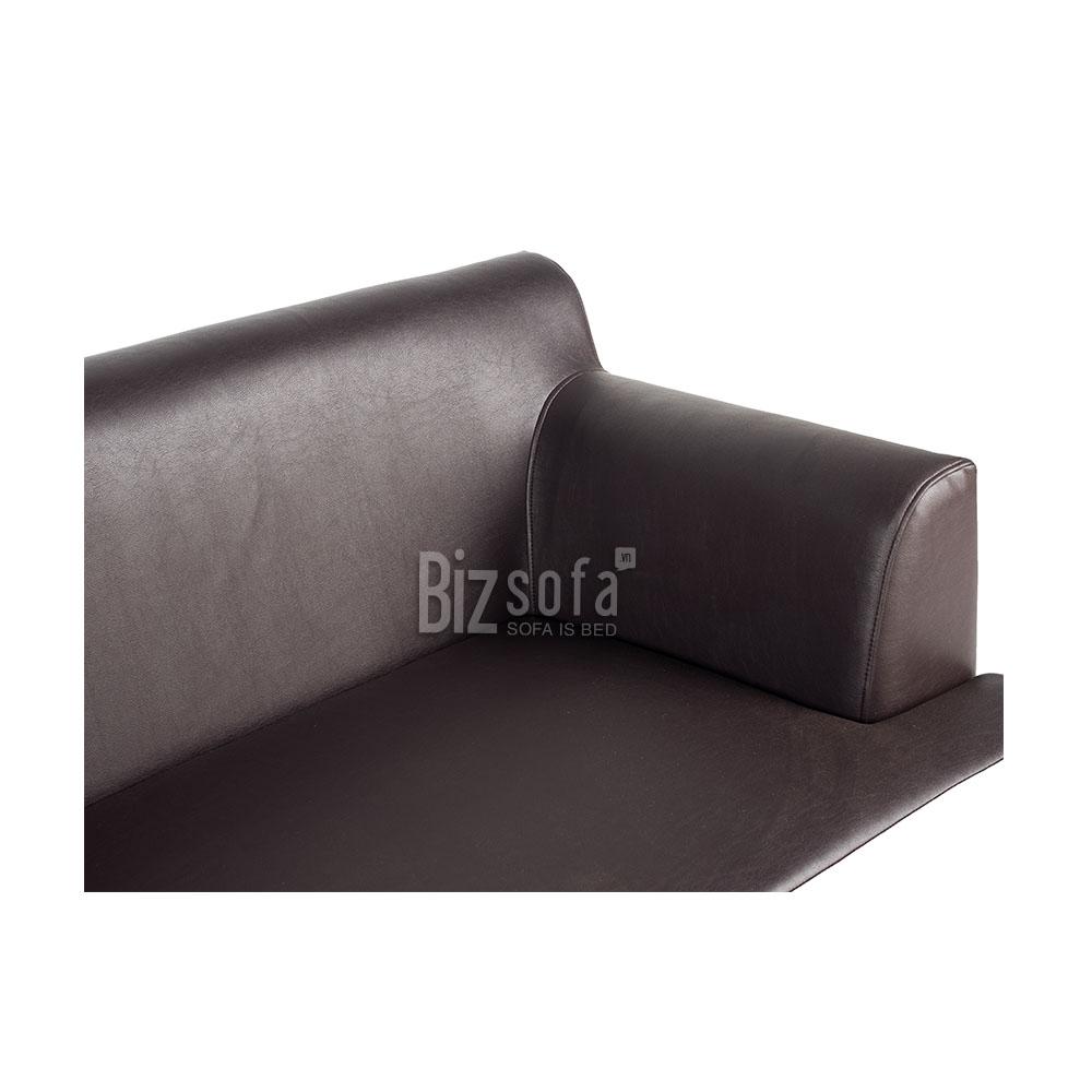 Sofa Băng Ghế B452 – 3 Chỗ – Màu Nâu