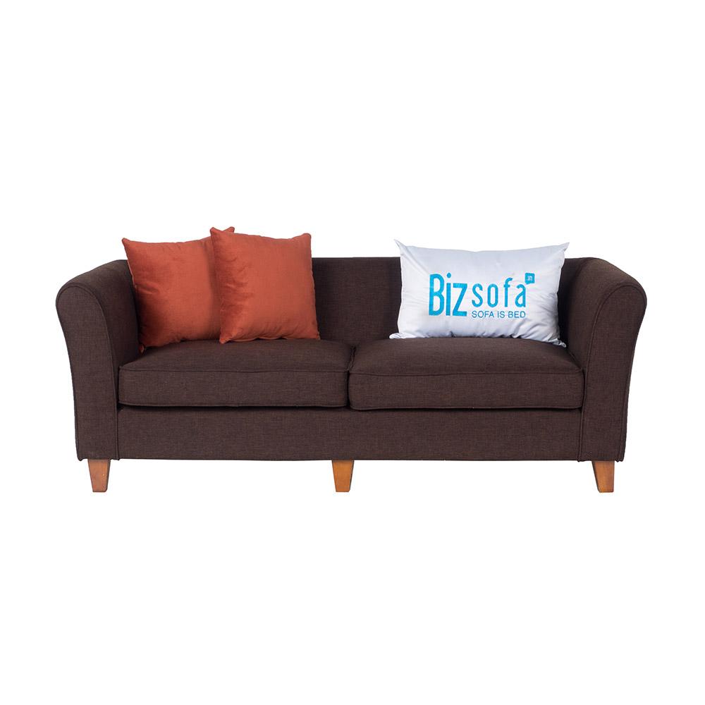 Sofa Băng Ghế B486 – 2 Chỗ – Màu Nâu