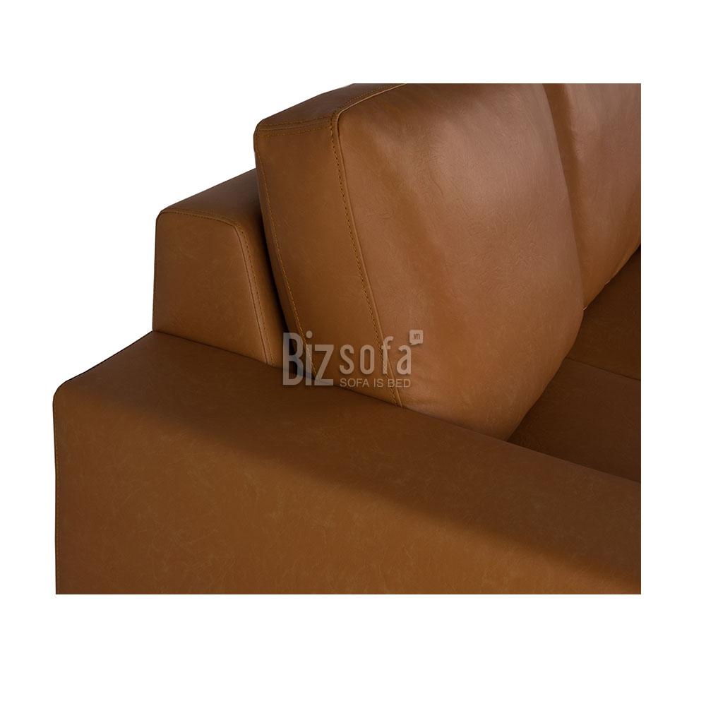 SOFA BĂNG GHẾ B0115 – 3 CHỖ – Brown PU