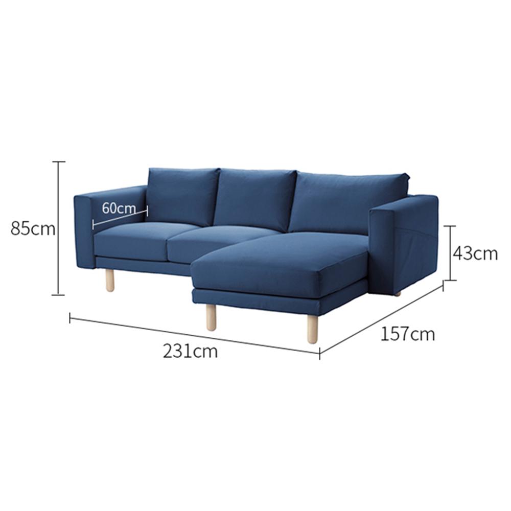 Sofa Phòng Khách Candi - TB016 – Nhiều màu trơn