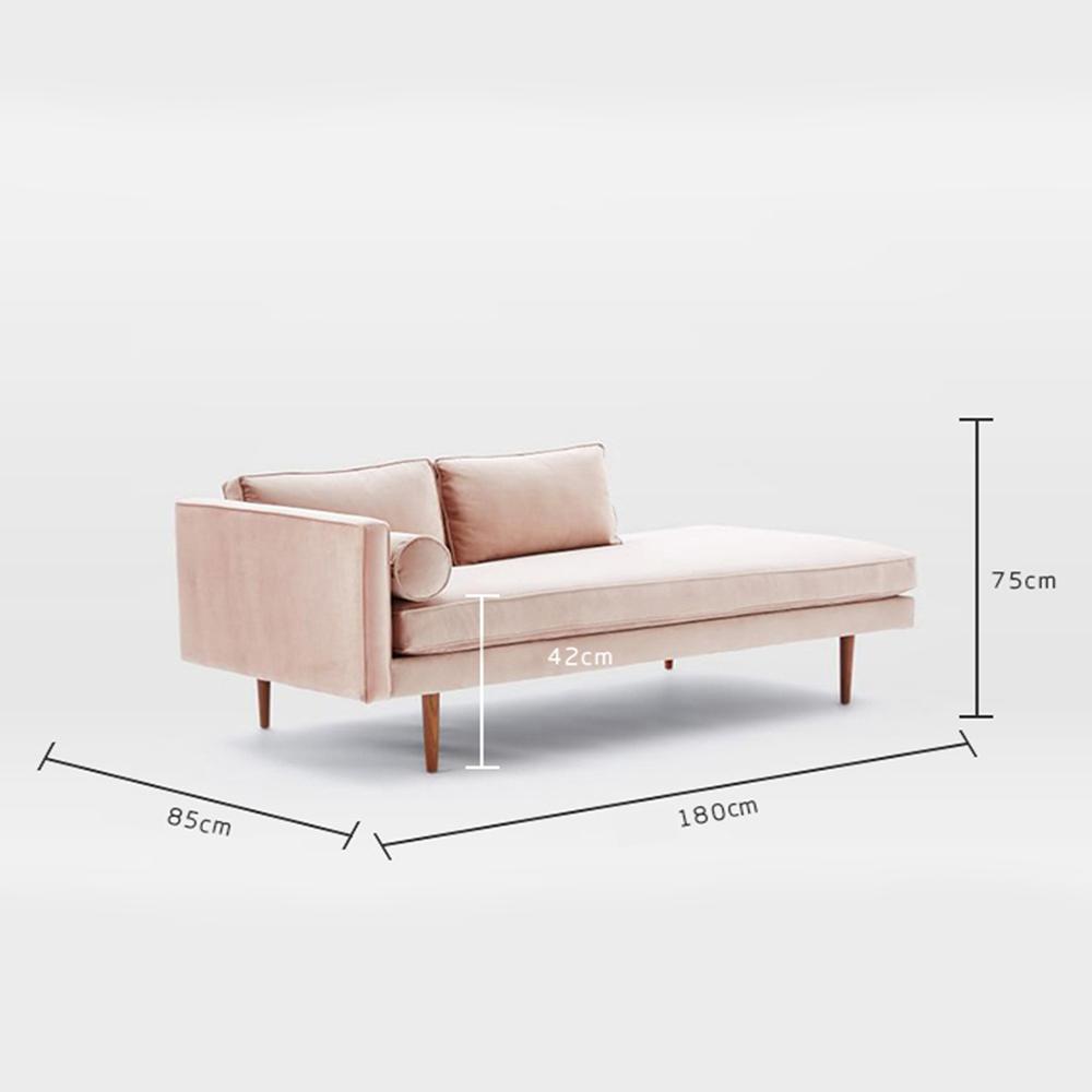 Sofa Phòng Khách Monroe TB003 – Nhiều màu trơn