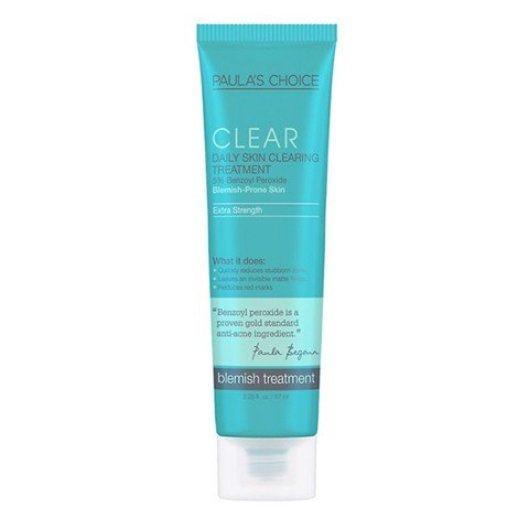 <p> - Kem trị mụn Paula's Choice Clear Extra Strength Daily Skin Clearing Treatment with 5% Benzoyl Peroxide