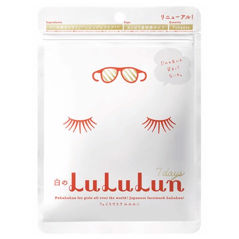 <p>Lululun Mask - Mặt nạ 7 miếng Lululun