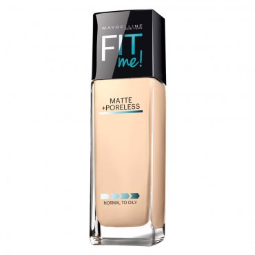 <p><strong>Kem nền&nbsp;MAYBELLINE FIT ME MATTE + PORELESS&nbsp;</strong><strong></strong> - FIT ME MATTE PORELESS FDT 125 NUDE BEIGE