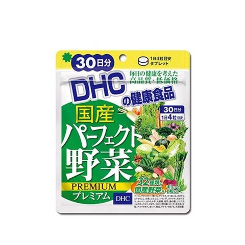 "<p><span style=""font-size: 11pt;"" data-mce-style=""font-size: 11pt;""> - Viên uống rau củ DHC Perfect Vegetable Supplement 30-Day Supply"