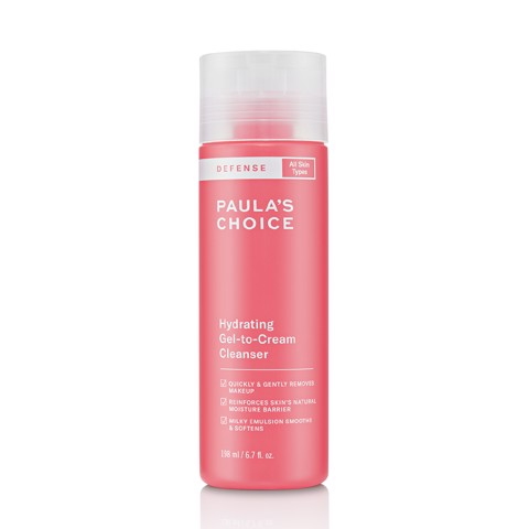 <p> - Sữa rửa mặt Paula's Choice Defense Hydrating Gel-To-Cream