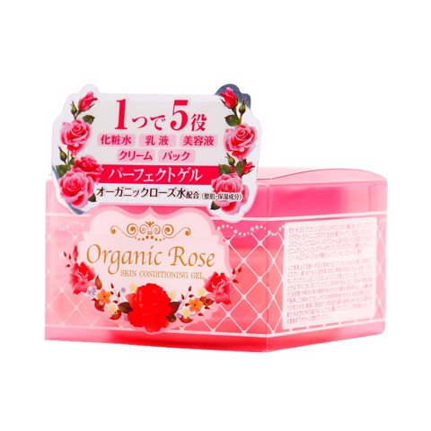 "<p style=""text-align: justify;"" data-mce-style=""text-align: justify;""> - Gel dưỡng da Meishoku Organic Rose Skin Conditioning Gel"