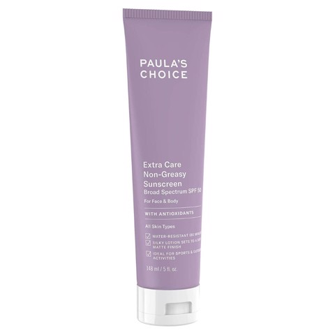 <p> - Kem chống nắng Paula's Choice Extra Care Non-Greasy Sunscreen SPF 50
