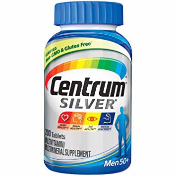 - Centrum Silver Men (200 count) Multivitamin