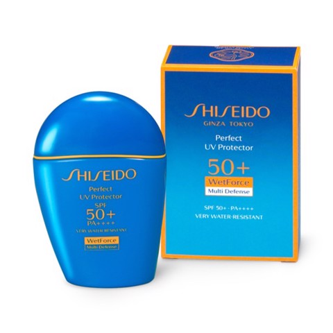 <p> - Kem chống nắng Shiseido Perfect UV Protector SPF 50+ PA++++ Wet Force Multi-Defense
