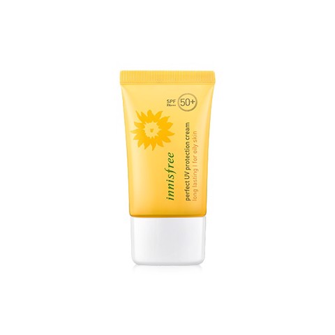 "<p><span data-sheets-value=""{&quot;1&quot;:2,&quot;2&quot;:&quot;Innisfree Daily UV Protection Cream Mild SPF35 PA++&quot;}"" data-sheets-userformat=""{&quot;2&quot;:14977,&quot;3&quot;:{&quot;1&quot;:0},&quot;10&quot;:2,&quot;12&quot;:0,&quot;14&quot;:{&quot;1&quot;:2,&quot;2&quot;:0},&quot;15&quot;:&quot;Calibri&quot;,&quot;16&quot;:14}""> - Chống nắng lâu trôi cho da dầu Innisfree Perfect UV Protection Cream Long Lasting for Oily Skin SPF50+ PA+++"