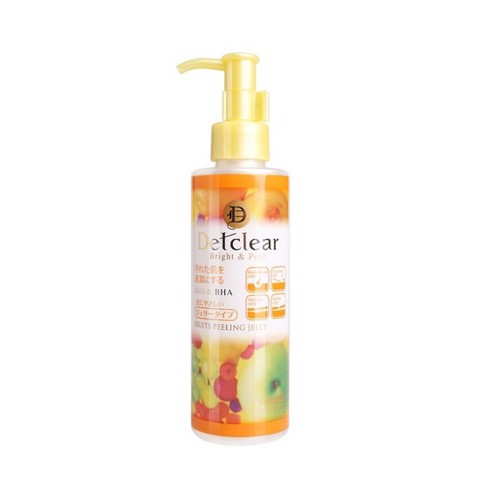 <p> - Gel tẩy tế bào chết Detclear Bright & Peel Peeling Jelly (Mixed Fruit)