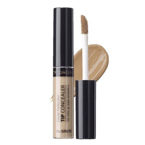 <p>The Saem Cover Perfection Tip Concealer - Kem che khuyết điểm THE SAEM