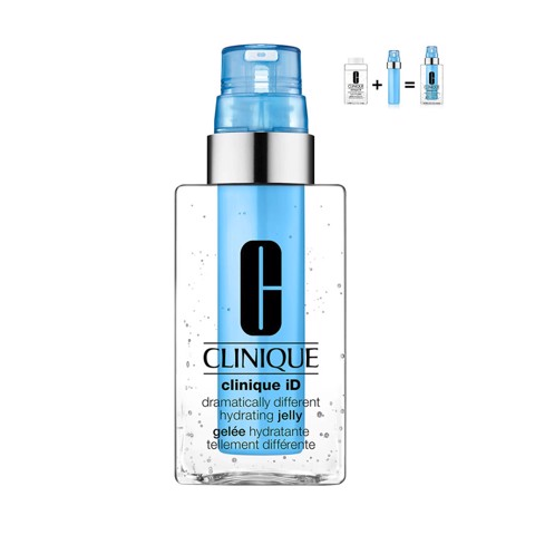 <p> - Dưỡng ẩm đặc trị lõi xanh dương Clinique iD Dramatically Different Hydrating Jelly and Active Cartridge Concentrate