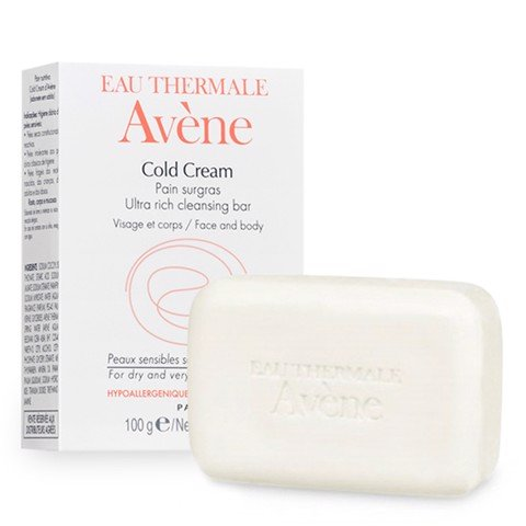 <p>Avène Cold Cream Ultra Rich Cleansing Bar 100g - Xà phòng bánh Avène Cold cream