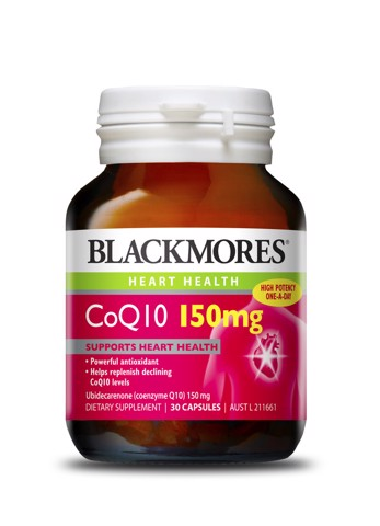 <p>Blackmores CO Q10 150mg  - Viên uống Blackmores CO Q10 150mg