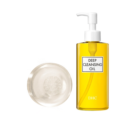 <p> - Combo DHC Deep Cleansing Oil 120ml  và DHC Mild Soap 90g