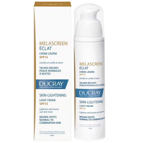 <p> - Kem dưỡng sáng da Ducray Melascreen Eclat Light Cream Skin Lightening SPF15