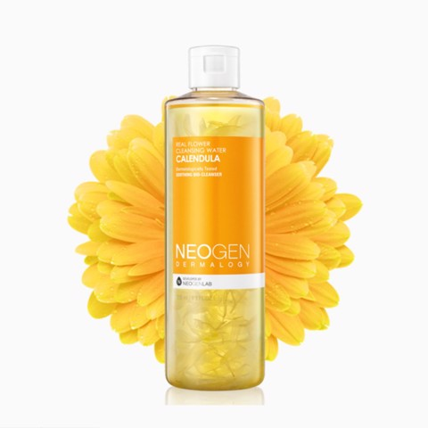 <p>Real Flower Cleansing Water Calendula - Nước Tẩy Trang Hoa Cúc Neogen Real Flower Cleansing Water Calendula