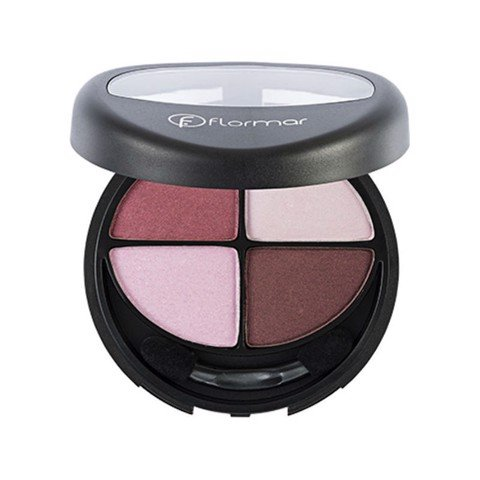 <p>Flormar Quartet eyeshadow - FLORMAR QUARTET EYE SHADOW - Pink Flamingos - 402