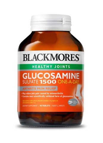 <p>Blackmores Glucosamine Sulfate 1500mg  One -A-Day - Viên uống bổ xương khớp Blackmores Glucosamine Sulfate 1500mg
